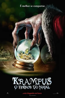 Capa Krampus: O Terror do Natal (2015) Dublado Torrent