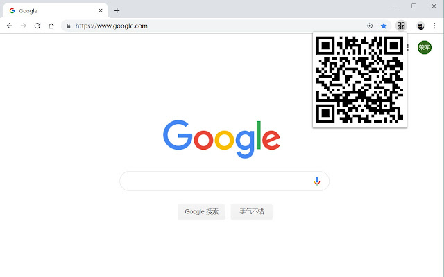 QrCode for URL