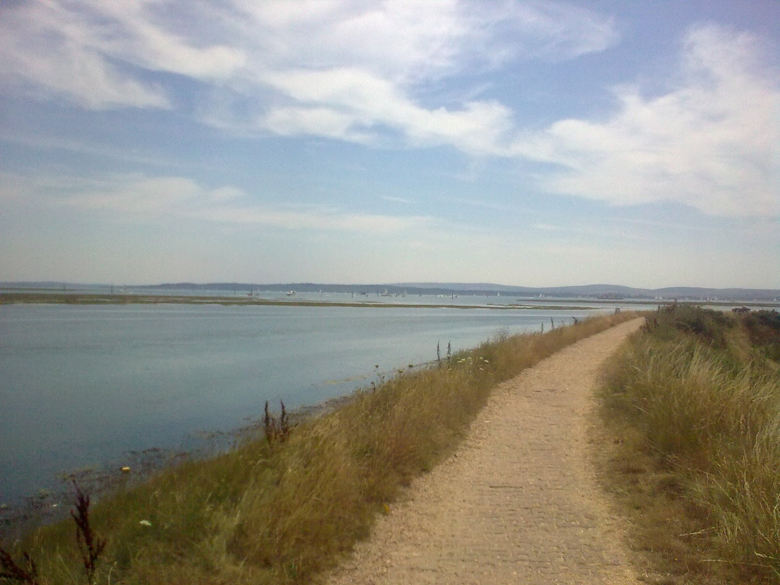 Image0310 Coast path past salt marshes