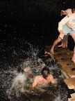 vodou suchou nohou - nepodařený pokus :-)