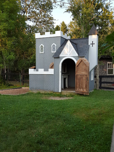 Small houses for kids. More than A Garden: Curious Llamas, Tiny Houses, and Teapot Trees at Kingsbrae Garden