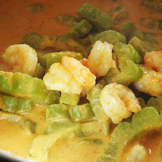 Bitter Melon Curry with Shrimp.