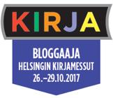 Bloggaaja Helsingin Kirjamessut