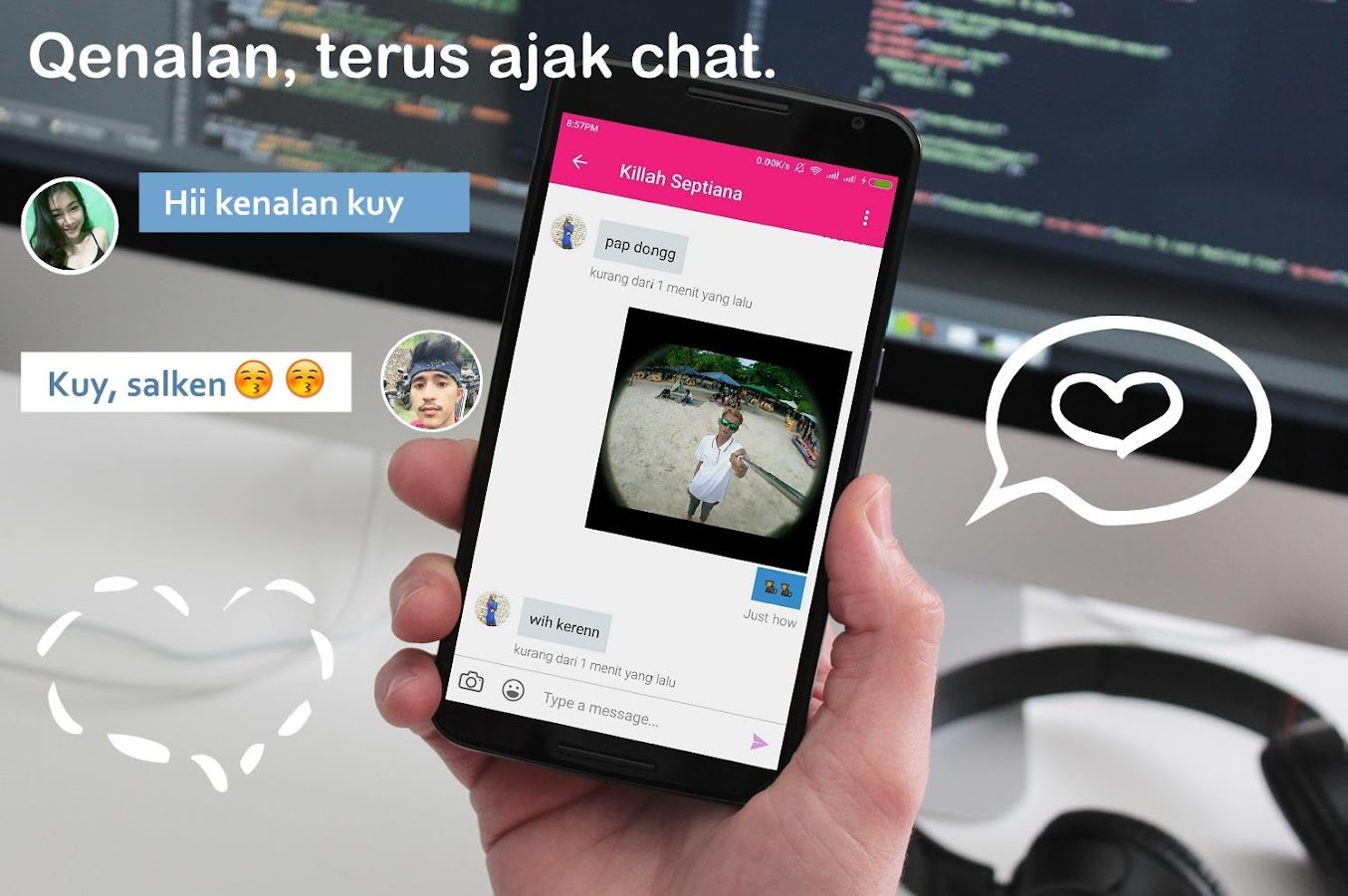 Qenalan Cari Teman Chat Android Apps On Google Play