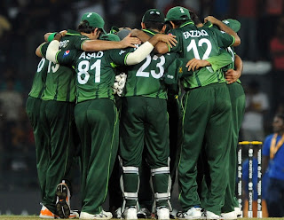 Pakistan are rejoicing their 11-run victory, Sri Lanka v Pakistan, World Cup, Group A, Colombo, February 26, 2011