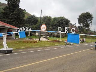 Bunagana, poste frontalier entre la RDC et l'Ouganda. Photo Droits tiers