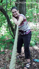 Photo: Me tugging on a rope that just appeared out of nowhere. ;)