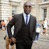 WWW.ENTSIMAGES.COM -     Ozwald Boateng at           LFW - Somerset House Courtyard Sunday September 14th 2014                                              Photo Mobis Photos/OIC 0203 174 1069