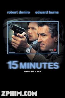15 Phút - 15 Minutes (2001) Poster