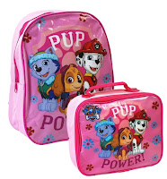 paw patrol back pack & lunch box