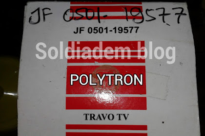 Persamaan Flyback Tv Polytron U-Slim