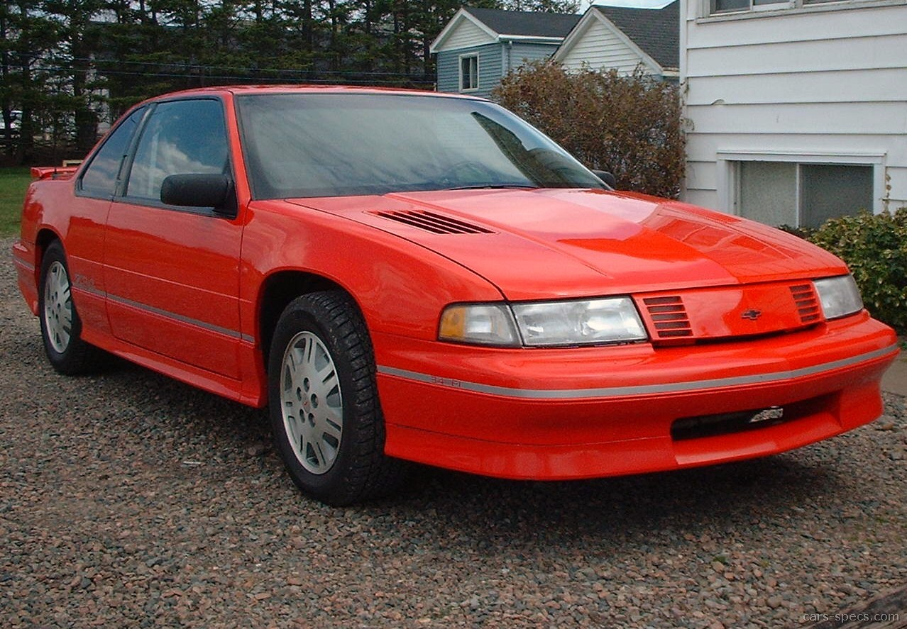 1991 Chevrolet Lumina Base Coupe 2 5l 4 Cyl 3 Sd Automatic