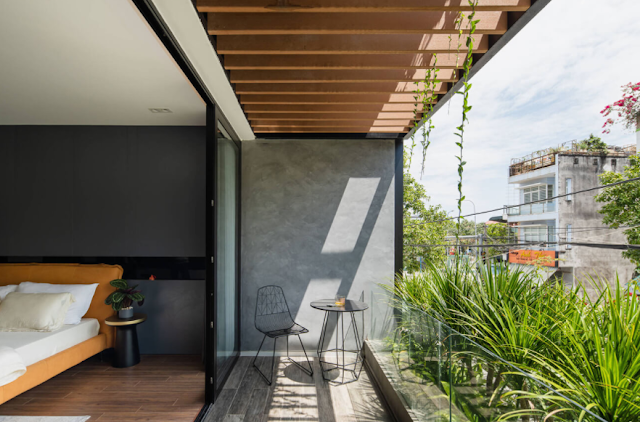 Nhà phố đẹp tại Vũng Tàu gắn kết không gian giữa bên trong và ngoài