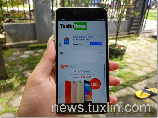 Benchmark Xiaomi Redmi Note 5A Prime: Jagoan Selfie!