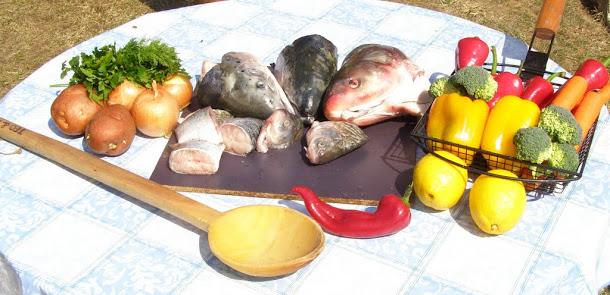 Ciorba de peste - ingrediente
