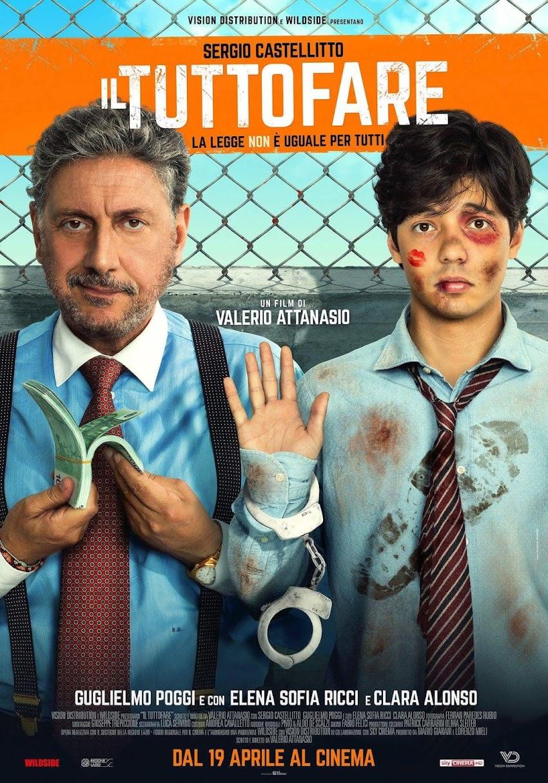Il Tutto fare, la nuova divertente commedia dal 19 aprile al cinema