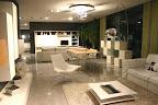 poltrona Manta, tavolino da salotto Saba, tavolo da soggiorno, libreria Lago, mobile da soggiorno Presotto