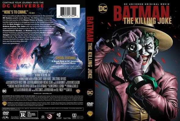 Batman: The Killing Joke – Latino, Inglés