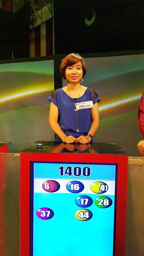Hình ảnh chị Trần Anh trong game show