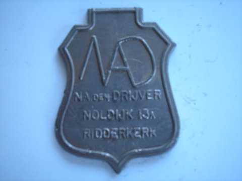 Naam: NA den DrijverPlaats: RidderkerkJaartal: 2000