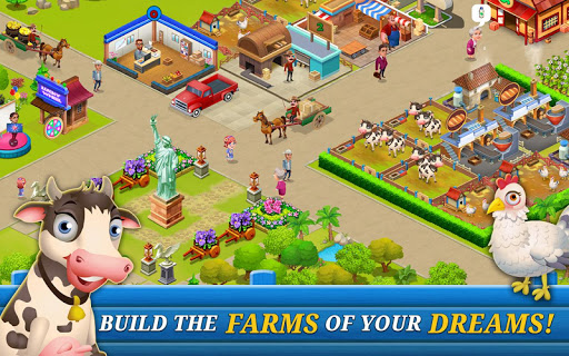 Supermarket City : Farming game 5.3 screenshots 8