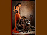 Lady And Lion