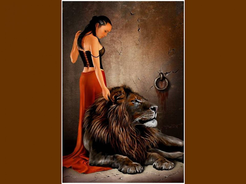 Lady And Lion, Spirit Companion 1