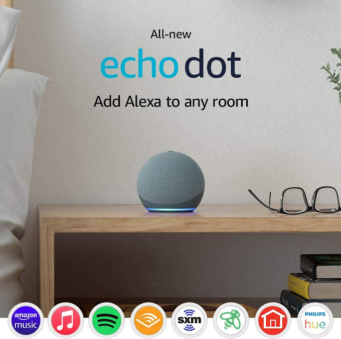 (2 X 1 ) Echo Dot (newest generation - 2020 release)