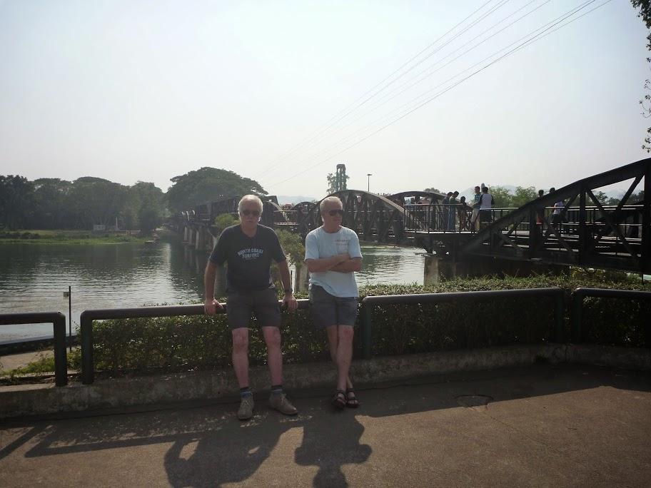The Bridge Over The River Kwai Kanchanaburi Thailand