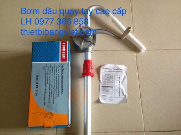 Bơm dầu quay tay chất lượng