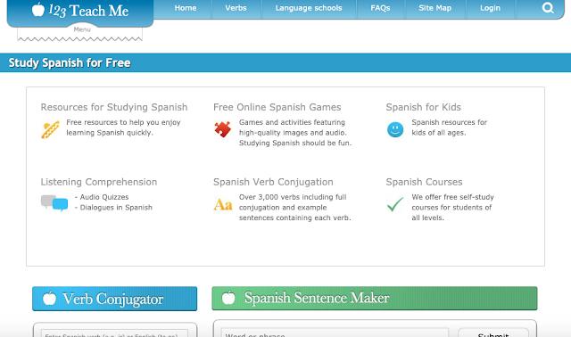 Serviço gratuito para alunos que estão aprendendo espanhol