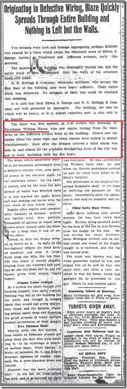 HAYES_William_discovers fire_21 Dec 1907_DFP_pg 1 - Copy