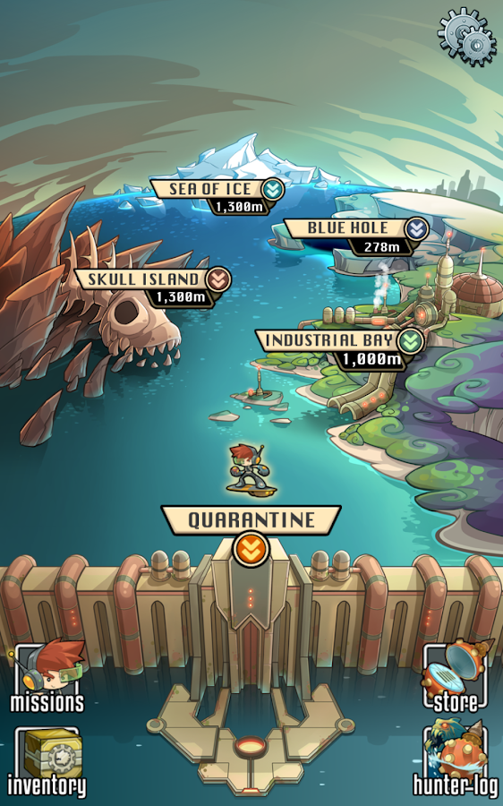 Mobfish Hunter- screenshot