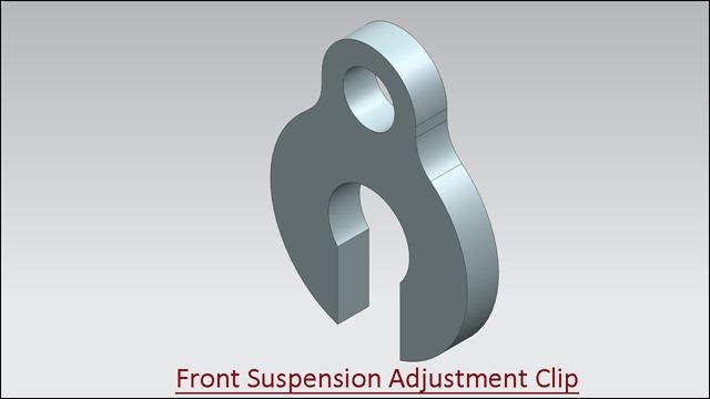 Front Suspension Adjustment Clip
