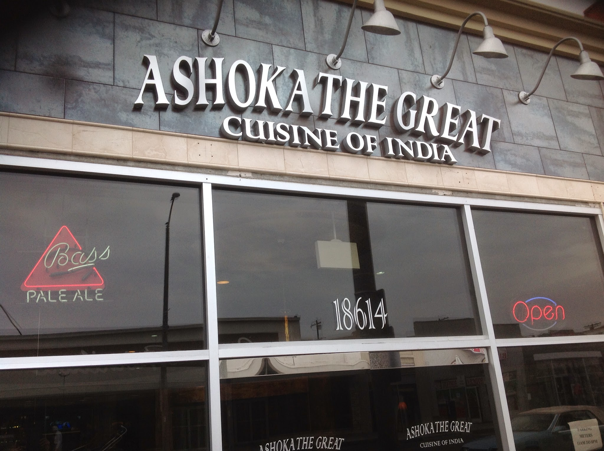 ashoka the great cuisine