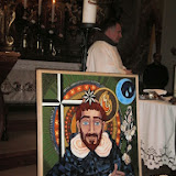 Szent Domonkos vándorképe Sopronban