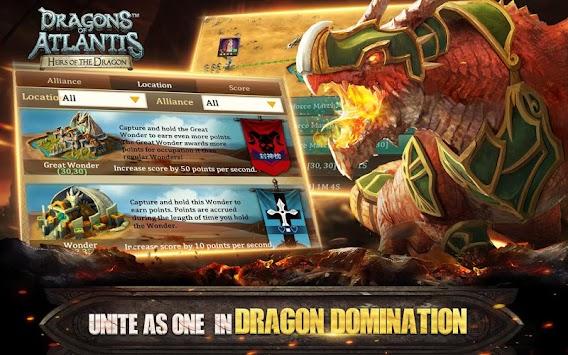 Dragons of Atlantis apk screenshot