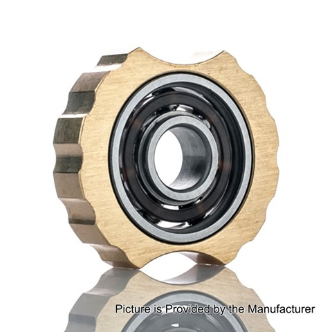 authentic coil master spinner 1 510 mounted hand spinner fidget toy for e cigarettes brass brass thumb%255B2%255D - 【海外】「Snowwolf Vfeng 230W」「SnowWolf 200W C」「Augvape DRUGA RDA中華バージョン」「Coil Masterスピナー1」「Cigworks Liqun たばこスタイルフレーバーリキッド」