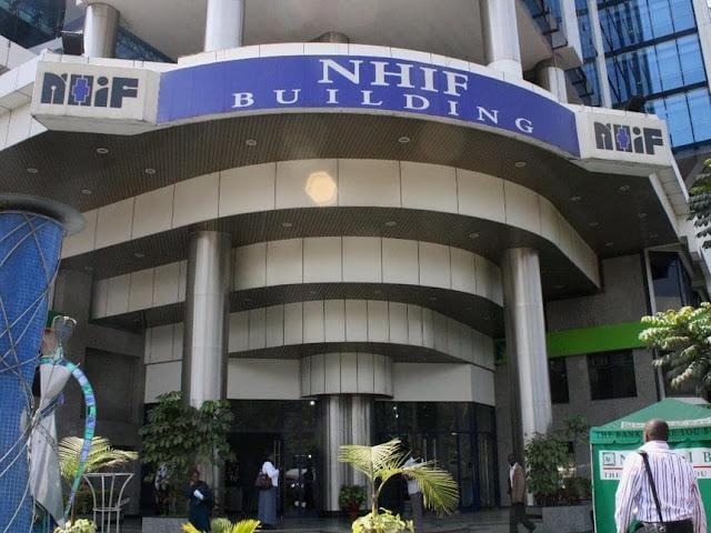 NHIF headquarters in Nairobi. PHOTO | RMS