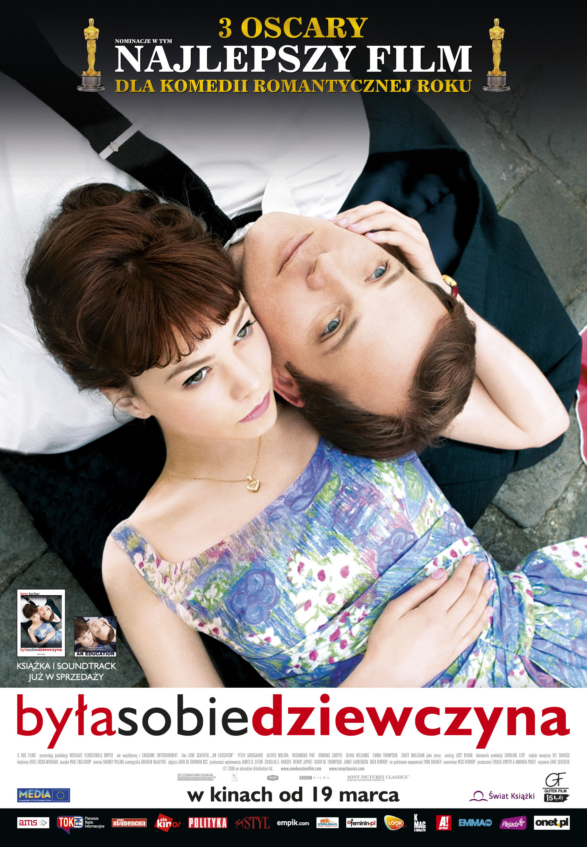 Polski plakat filmu 'Była Sobie Dziewczyna'