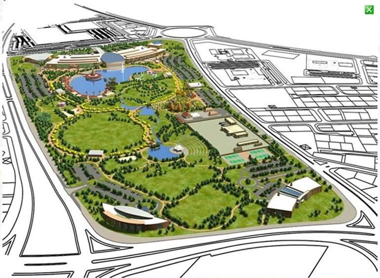 Ladies who do lunch in kuwait new plans for salmiya park for Garden design kuwait