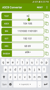 ASCII Converter – Text Encoder Apk Download 1