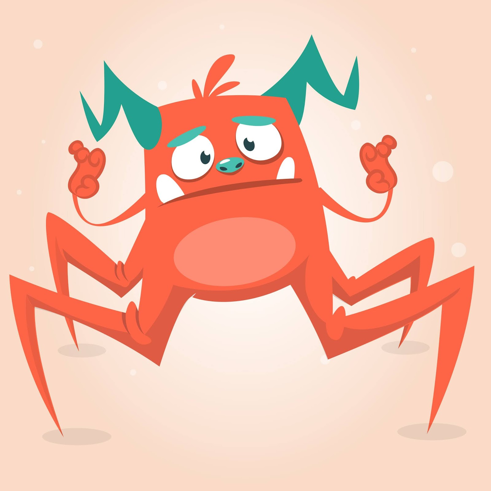 Funny Cartoon Style Monster Halloween Free Download Vector CDR, AI, EPS and PNG Formats