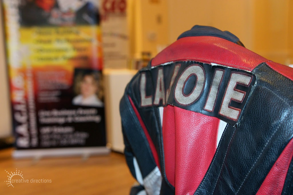 women's wisdom judy foster jan14 luncheon nadie lajoie motorcycle jacket