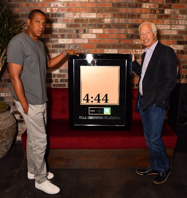 "JAY-Z's ""4:44"" Album Reaches Platinum Status Less Than A Week After Release"