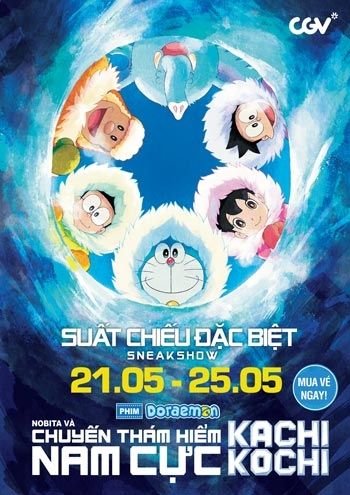 Download Doraemon: Great Adventure in the Antarctic Kachi Kochi (2017) BluRay 720p Subtitle Indonesia