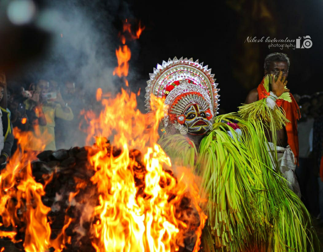 Gulikan Theyyam images