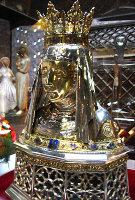 Реликварий с главой праведной Анны в Дюрене. Изображение сайта ПРАВОСЛАВНОЕ ПАЛОМНИЧЕСТВО