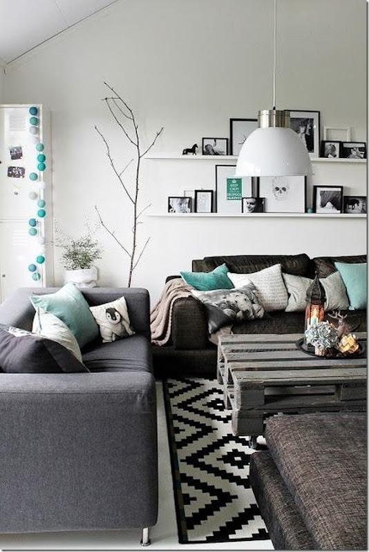 10 idee per abbinare il Divano grigio