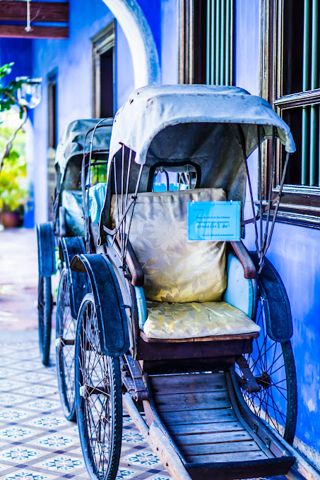 Penang Cheong Fatt Tze Mansion (Blue Mansion) rickshaw3